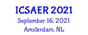 International Conference on Small Animal Endoscopy and Research (ICSAER) September 16, 2021 - Amsterdam, Netherlands
