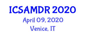 International Conference on Small Animal Medicine and Drug Research (ICSAMDR) April 09, 2020 - Venice, Italy
