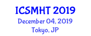 International Conference on Smart Medical and Healthcare Textiles (ICSMHT) December 04, 2019 - Tokyo, Japan