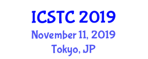 International Conference on Smart Transportation and Cities (ICSTC) November 11, 2019 - Tokyo, Japan