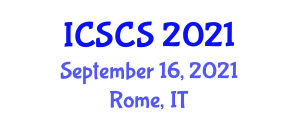 International Conference on Social and Cultural Studies (ICSCS) September 16, 2021 - Rome, Italy