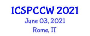 International Conference on Social and Political Conflicts in Civil Wars (ICSPCCW) June 03, 2021 - Rome, Italy