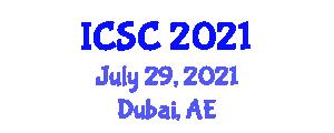 International Conference on Social Constructionism (ICSC) July 29, 2021 - Dubai, United Arab Emirates
