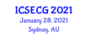 International Conference on Social, Economic and Cultural Geography (ICSECG) January 28, 2021 - Sydney, Australia