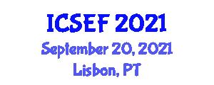 International Conference on Social Economics and Finance (ICSEF) September 20, 2021 - Lisbon, Portugal