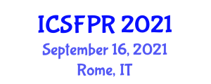 International Conference on Social Forestry and Practices (ICSFPR) September 16, 2021 - Rome, Italy
