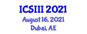 International Conference on Social Influence, Identification and Internalization (ICSIII) August 16, 2021 - Dubai, United Arab Emirates
