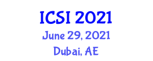 International Conference on Social Intelligence (ICSI) June 29, 2021 - Dubai, United Arab Emirates