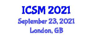 International Conference on Social Movement (ICSM) September 23, 2021 - London, United Kingdom