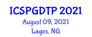 International Conference on Social Psychology, Group Dynamics, Theory and Practice (ICSPGDTP) August 09, 2021 - Lagos, Nigeria