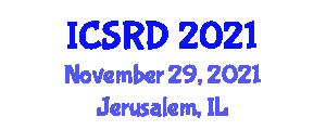 International Conference on Sociology of Radicalization and Deradicalization (ICSRD) November 29, 2021 - Jerusalem, Israel