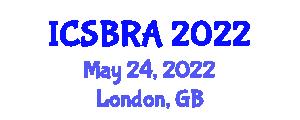 International Conference on Soft Body Robotics and Applications (ICSBRA) May 24, 2022 - London, United Kingdom