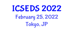 International Conference on Software Encryption and Data Security (ICSEDS) February 25, 2022 - Tokyo, Japan