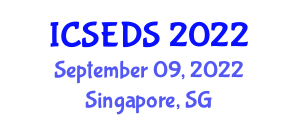 International Conference on Software Encryption and Data Security (ICSEDS) September 09, 2022 - Singapore, Singapore