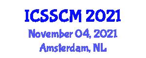 International Conference on Software System Construction and Models (ICSSCM) November 04, 2021 - Amsterdam, Netherlands