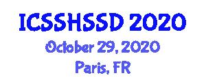 International Conference on Solid-State Hydrogen Storage System Design (ICSSHSSD) October 29, 2020 - Paris, France