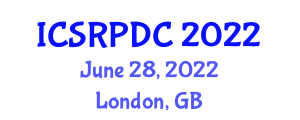 International Conference on Space Robotics, Planning, Design and Control (ICSRPDC) June 28, 2022 - London, United Kingdom