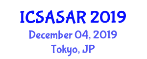 International Conference on Spacecraft Avionics Systems and Aerospace Robotics (ICSASAR) December 04, 2019 - Tokyo, Japan