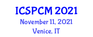 International Conference on Spare Parts Cycle Management (ICSPCM) November 11, 2021 - Venice, Italy