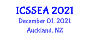 International Conference on Sport and Sports Education in Adolescence (ICSSEA) December 01, 2021 - Auckland, New Zealand