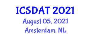International Conference on Sport, Disability and Assistive Technology (ICSDAT) August 05, 2021 - Amsterdam, Netherlands