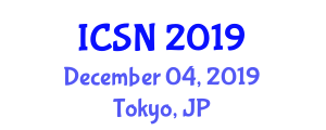 International Conference on Sports and Nutrition (ICSN) December 04, 2019 - Tokyo, Japan