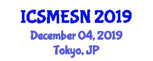 International Conference on Sports Medicine and Endurance Sports Nutrition (ICSMESN) December 04, 2019 - Tokyo, Japan