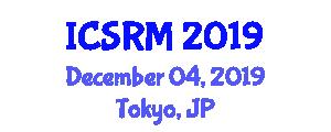International Conference on Sports Revenue Management (ICSRM) December 04, 2019 - Tokyo, Japan