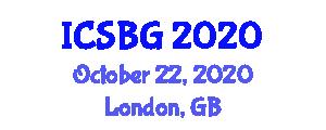 International Conference on Statistical Botanical Geography (ICSBG) October 22, 2020 - London, United Kingdom
