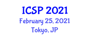 International Conference on Statistical Phytogeography (ICSP) February 25, 2021 - Tokyo, Japan