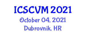 International Conference on Stem Cells in Veterinary Medicine (ICSCVM) October 04, 2021 - Dubrovnik, Croatia
