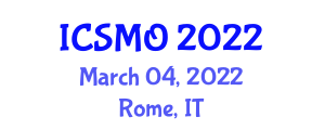 International Conference on Strategic Management and Organization (ICSMO) March 04, 2022 - Rome, Italy