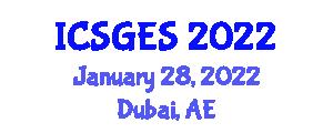 International Conference on Structural Geology and Exploration Seismology (ICSGES) January 28, 2022 - Dubai, United Arab Emirates