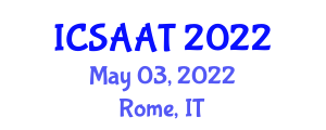 International Conference on Substance Abuse, Addiction and Treatment (ICSAAT) May 03, 2022 - Rome, Italy