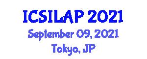 International Conference on Super Intense Laser-Atom Physics (ICSILAP) September 09, 2021 - Tokyo, Japan