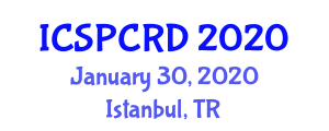 International Conference on Supportive and Palliative Care in Renal Disease (ICSPCRD) January 30, 2020 - Istanbul, Turkey