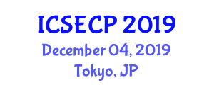 International Conference on Sustainable Energy and City Planning (ICSECP) December 04, 2019 - Tokyo, Japan