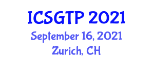 International Conference on Symplectic Geometry in Theoretical Physics (ICSGTP) September 16, 2021 - Zurich, Switzerland
