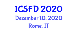 International Conference on Synthetic Fiber Dyeing (ICSFD) December 10, 2020 - Rome, Italy