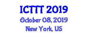 International Conference on Telenursing, Telerehabilitation and Telehealth (ICTTT) October 08, 2019 - New York, United States