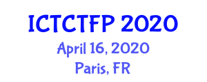 International Conference on Textile Chemistry, Textile Fibers and Properties (ICTCTFP) April 16, 2020 - Paris, France