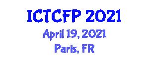 International Conference on Textile Physics and Fiber Properties (ICTCFP) April 19, 2021 - Paris, France