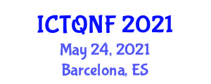 International Conference on Textile Quality and Natural Fiber (ICTQNF) May 24, 2021 - Barcelona, Spain