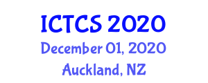 International Conference on Theoretical and Computational Seismology (ICTCS) December 01, 2020 - Auckland, New Zealand