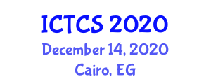 International Conference on Theoretical and Computational Seismology (ICTCS) December 14, 2020 - Cairo, Egypt