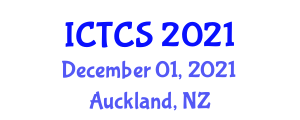 International Conference on Theoretical and Computational Seismology (ICTCS) December 01, 2021 - Auckland, New Zealand