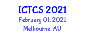 International Conference on Theoretical and Computational Seismology (ICTCS) February 01, 2021 - Melbourne, Australia