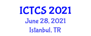 International Conference on Theoretical and Computational Seismology (ICTCS) June 28, 2021 - Istanbul, Turkey
