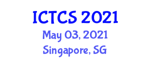 International Conference on Theoretical and Computational Seismology (ICTCS) May 03, 2021 - Singapore, Singapore