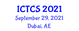 International Conference on Theoretical and Computational Seismology (ICTCS) September 29, 2021 - Dubai, United Arab Emirates